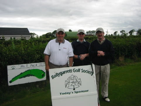 Captains Day 2002. Claude, John and Louis
